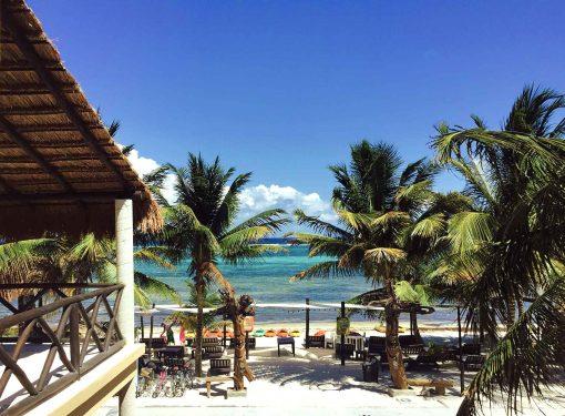 mahahual resort vista mar